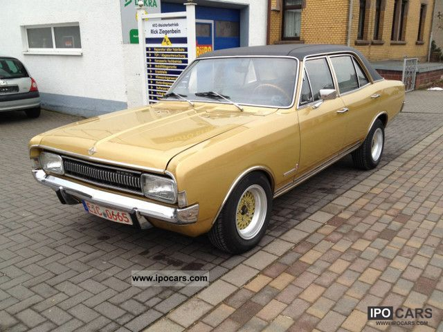 Opel  Commodore A Limo servo H-plates 1970 Vintage, Classic and Old Cars photo