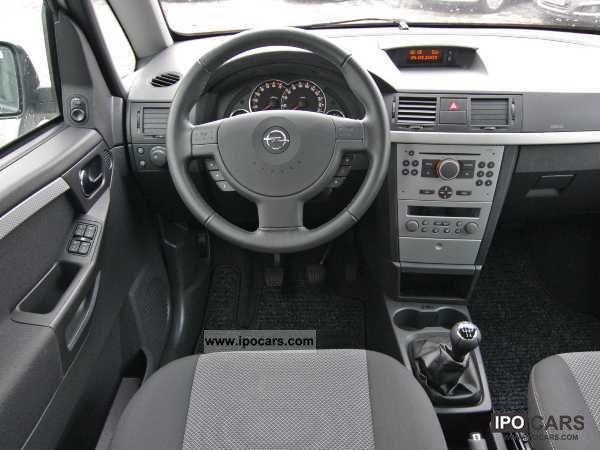 2008 Opel Meriva Cosmo 5 Doors Special Prices Car