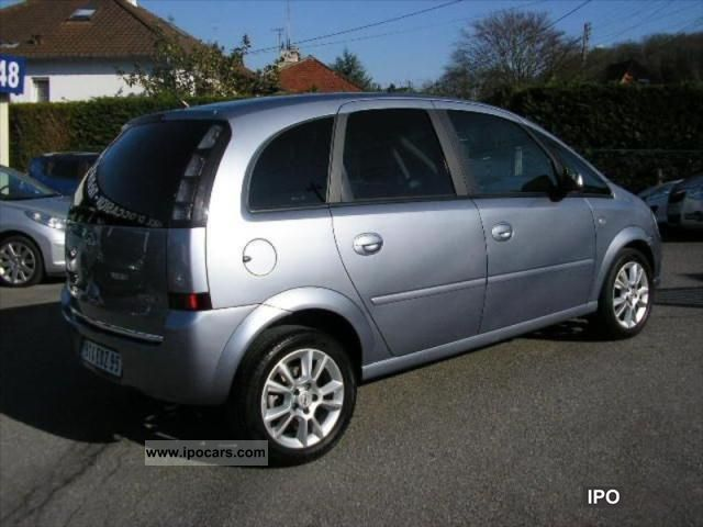 2008 opel meriva 1 7 cdti cosmo car photo and specs. Black Bedroom Furniture Sets. Home Design Ideas