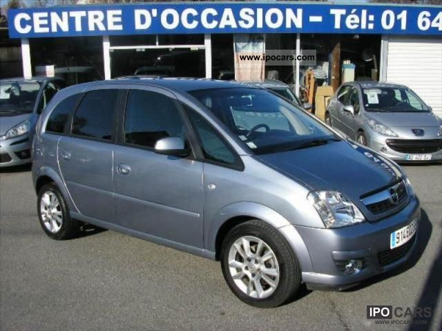 2008 opel meriva 1 7 cdti cosmo car photo and specs