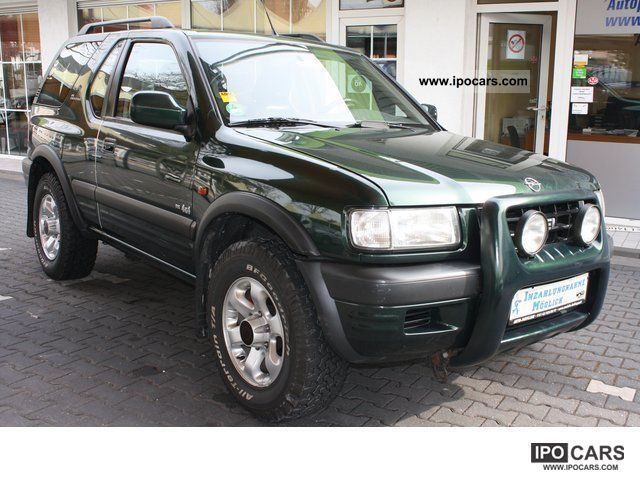 1998 opel frontera sport rs b 2 2 air apc leather. Black Bedroom Furniture Sets. Home Design Ideas
