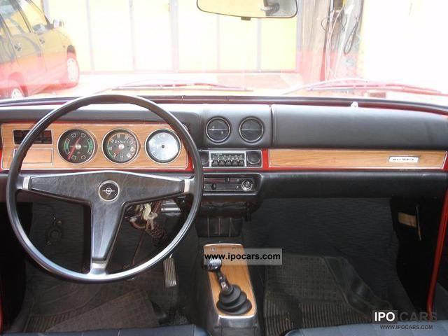 1968 Opel A Kadett B Olympia Car Photo And Specs
