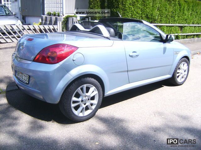 2006 opel tigra 1 8 incl sportauspuff spacers car. Black Bedroom Furniture Sets. Home Design Ideas