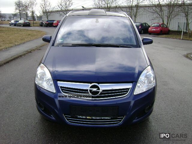 2009 opel zafira 1 7 cdti panorama climate control sport car photo and specs. Black Bedroom Furniture Sets. Home Design Ideas