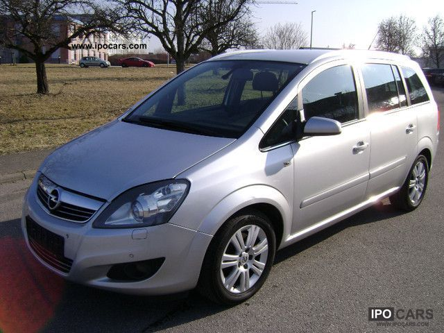 2009 opel zafira 1 9 cdti leather seats xenon 7 5 euro car photo and specs. Black Bedroom Furniture Sets. Home Design Ideas