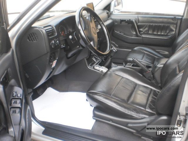 2000 opel frontera 3 2 l v6 limited lpg gas leather. Black Bedroom Furniture Sets. Home Design Ideas