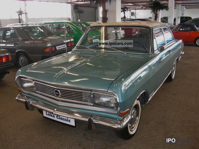Opel  B 1500 L Olympic record 1966 Vintage, Classic and Old Cars photo