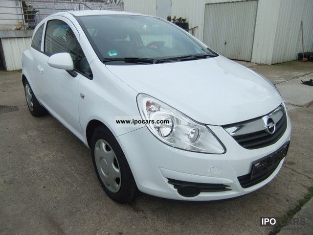 Opel  1.2 LPG Corsa ECO FLEX * AIR * € 0.78 per liter 2009 Liquefied Petroleum Gas Cars (LPG, GPL, propane) photo