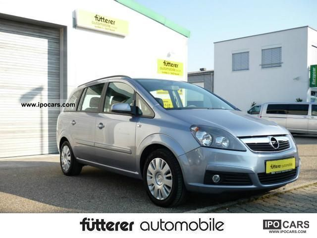 Opel  Zafira 1.6 CNG Edition 2010 Compressed Natural Gas Cars (CNG, methane, CH4) photo