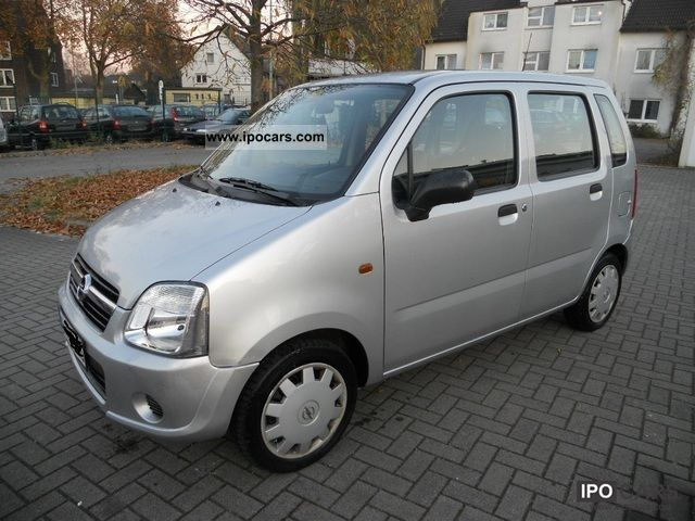 2005 Opel  Agila 1.0-climate-1.HAND Euro 4 only 68 000 KM Limousine Used vehicle photo