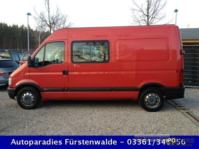 2002 Opel  Movano 2.5 DTI * 3500 * 6 seater high + long * Air Van / Minibus Used vehicle photo