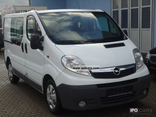 2008 Opel  Vivaro 2.0 CDTI * Trucks * Air * Webasto € * 4 * Van / Minibus Used vehicle photo