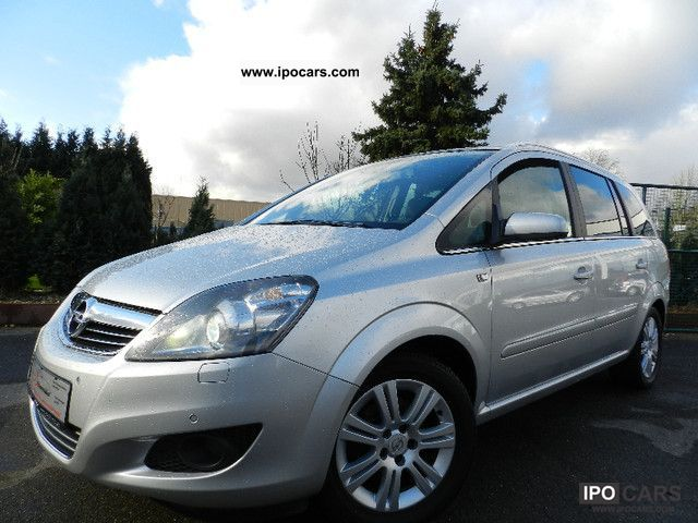 Opel  Zafira 1.8 * 7Sitz * 1Hd. * Bi-Xenon * Navi * PDC * MF * LPG * 2009 Liquefied Petroleum Gas Cars (LPG, GPL, propane) photo