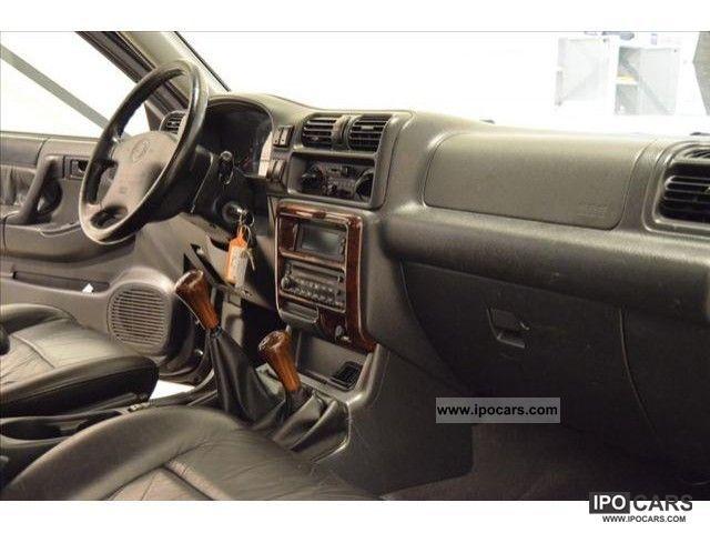 2001 Opel Frontera Ltd Wagon 2 3 Mv6 Ac Space Car Photo
