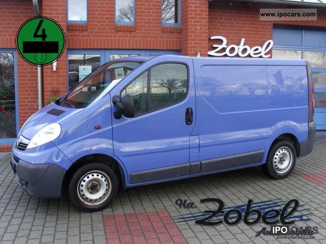 2006 Opel  Vivaro 2.0 CDTI BOX truck trailer coupling ABS 6GANG 3SITZER Van / Minibus Used vehicle photo