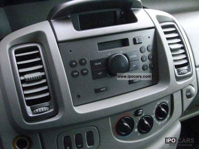 2006 Opel Vivaro 2 0 Cdti Box Truck Trailer Coupling Abs 6gang 3sitzer