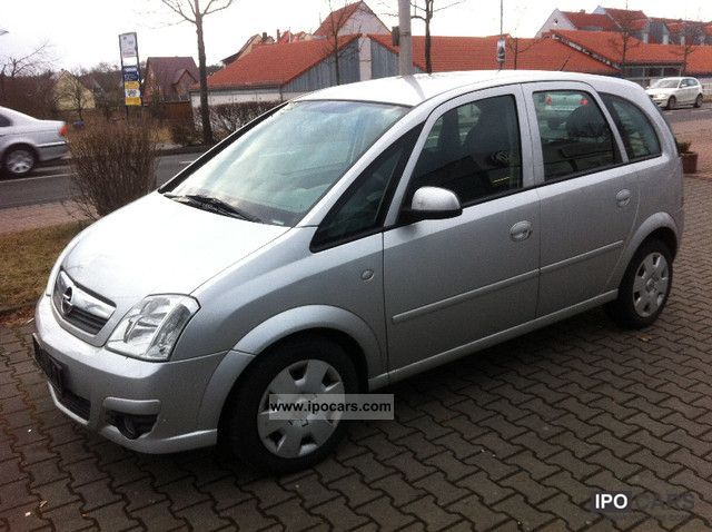 2008 opel meriva 1 7 cdti 6gang climate heated seats elfh car photo and specs. Black Bedroom Furniture Sets. Home Design Ideas