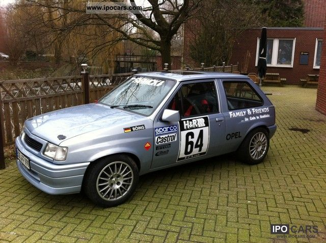 Opel  GSI Rally 1992 Race Cars photo