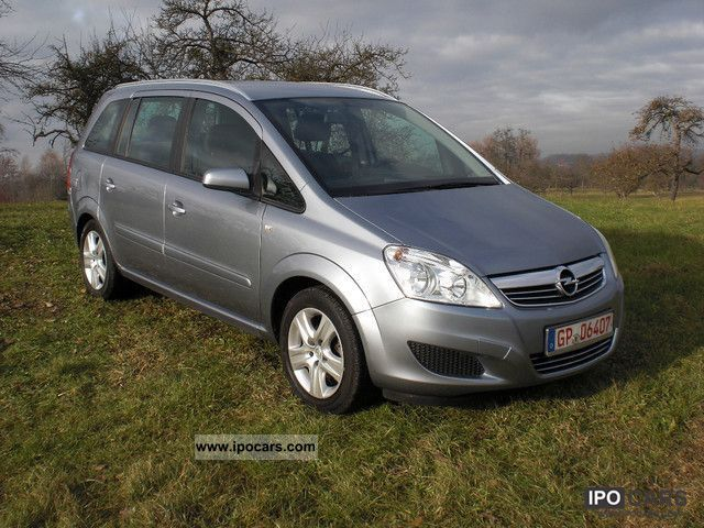 2009 opel zafira 1 8 easytronic edition car photo and specs. Black Bedroom Furniture Sets. Home Design Ideas