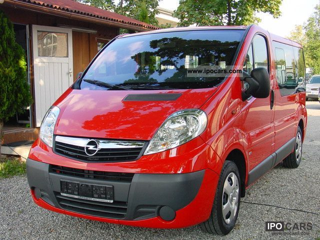 2008 opel vivaro 2 0 cdti life westfalia air 4 car photo and specs. Black Bedroom Furniture Sets. Home Design Ideas