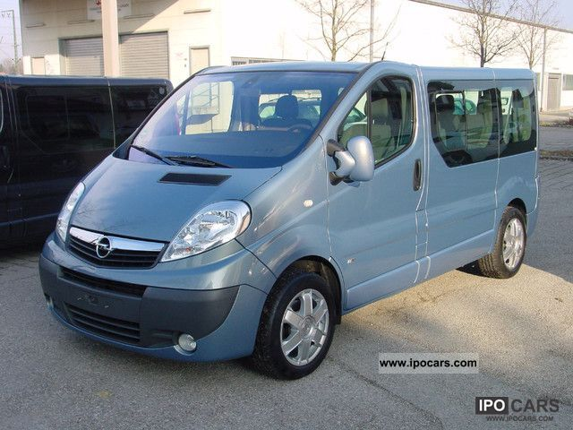 2009 opel vivaro life 2 5cdti westfalia klima 6 sitzer dpf car photo and specs. Black Bedroom Furniture Sets. Home Design Ideas