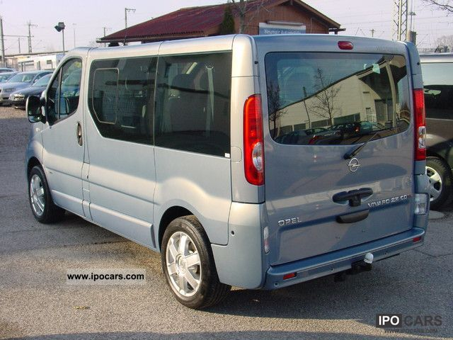 2009 opel vivaro life 2 5cdti westfalia klima 6 sitzer dpf. Black Bedroom Furniture Sets. Home Design Ideas
