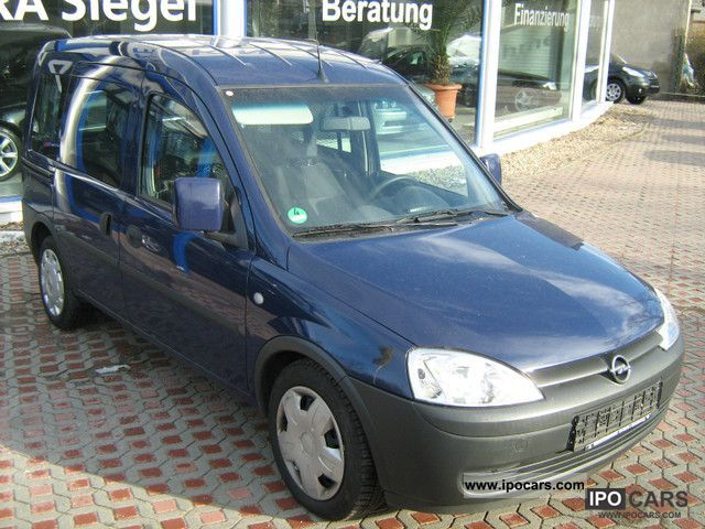 Opel  Combo 1.6 CNG BOX WITH AIR 2007 Compressed Natural Gas Cars (CNG, methane, CH4) photo