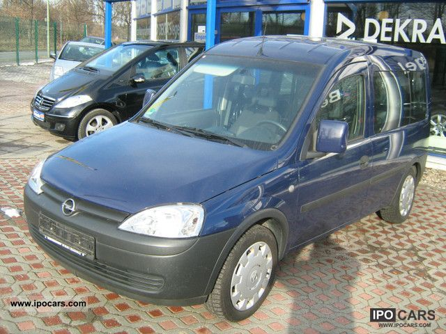 2007 opel combo 1 6 cng box with air car photo and specs. Black Bedroom Furniture Sets. Home Design Ideas