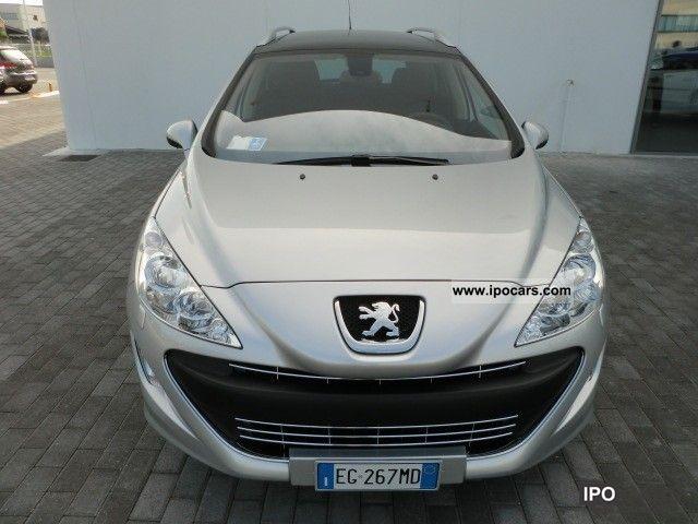 2011 Peugeot  308 1.6 8v HDi FAP 112CV SW Ciel Sportium Estate Car Used vehicle photo