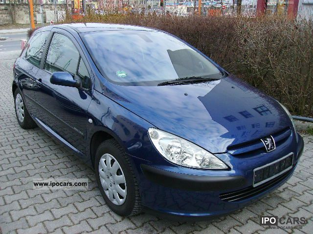 2002 Peugeot  307 HDi * Klimatronic Euro3 * + * I * AHK DPF hand * TOP * Limousine Used vehicle photo