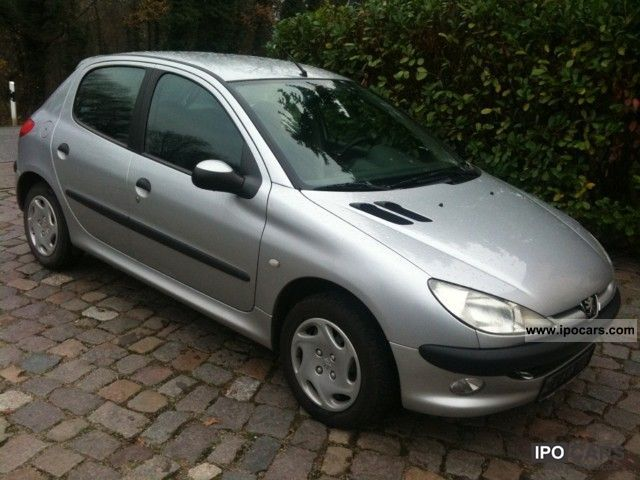 2000 peugeot 206 hdi 90 style air cruise cd apc. Black Bedroom Furniture Sets. Home Design Ideas