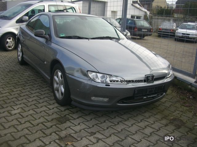 2001 peugeot 406 coupe 3 0 v6 platinum car photo and specs. Black Bedroom Furniture Sets. Home Design Ideas
