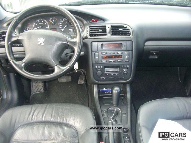 2001 Peugeot 406 Coupe 30 V6 Platinum Car Photo And Specs