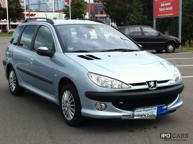 2003 peugeot 206 sw 1hand climate control new technical approval good z car photo and specs. Black Bedroom Furniture Sets. Home Design Ideas