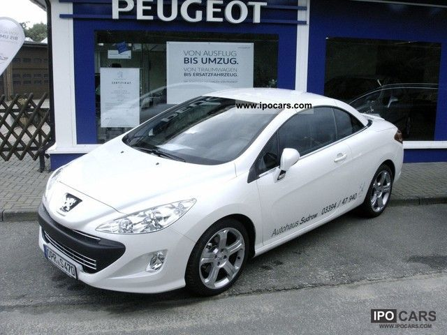 2011 Peugeot  308 CC HDi FAP 140 Platinum Cabrio / roadster Demonstration Vehicle photo