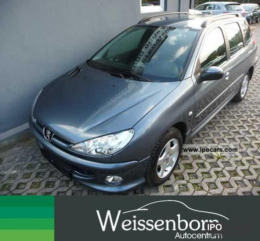 2006 Peugeot  206 SW 75 JBL climate Estate Car Used vehicle photo