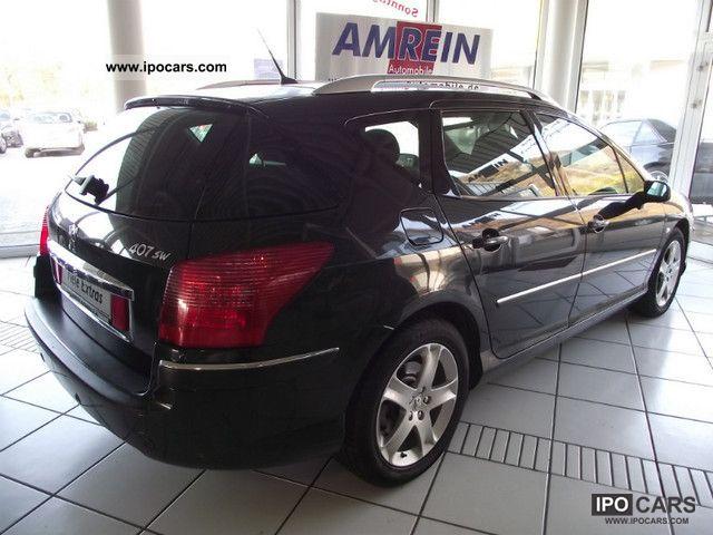 2005 peugeot 407 sw 2 0 hdi 135 premium car photo and specs. Black Bedroom Furniture Sets. Home Design Ideas