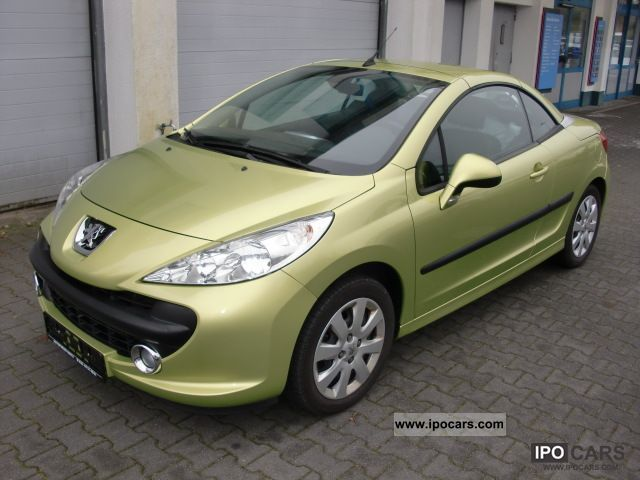 2008 Peugeot  207 CC 120 VTi rogue - 23 320 MILES - Cabrio / roadster Used vehicle photo