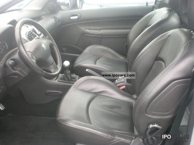 2005 peugeot 206 cc hdi fap 110 klimatronic leather 4 car photo and specs. Black Bedroom Furniture Sets. Home Design Ideas