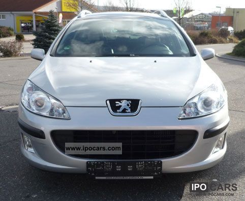 2006 peugeot 407 sw hdi 110 car photo and specs. Black Bedroom Furniture Sets. Home Design Ideas