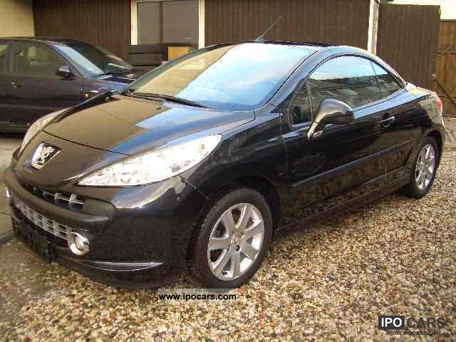 2007 peugeot 207 cc 120 vti platinum leather air conditioning heated seats car photo and specs. Black Bedroom Furniture Sets. Home Design Ideas