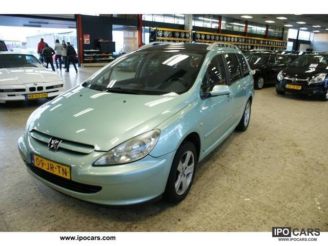 2002 Peugeot  AUT 307 2.0 16 V Estate Car Used vehicle photo