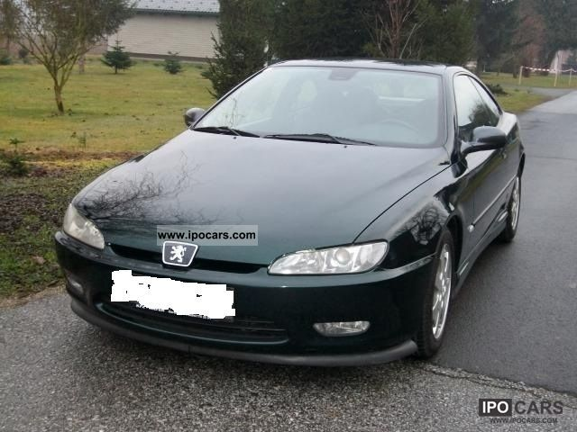 1998 peugeot 406 coupe 2 0 16v xenon air leather volaustattun car photo and specs. Black Bedroom Furniture Sets. Home Design Ideas