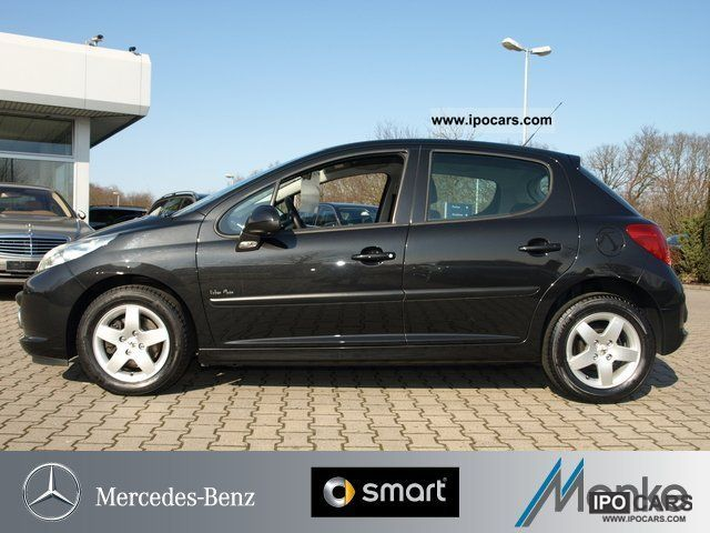 2009 peugeot tendance 207 1 4 16v vti 95 air 5 door etc car photo and specs. Black Bedroom Furniture Sets. Home Design Ideas