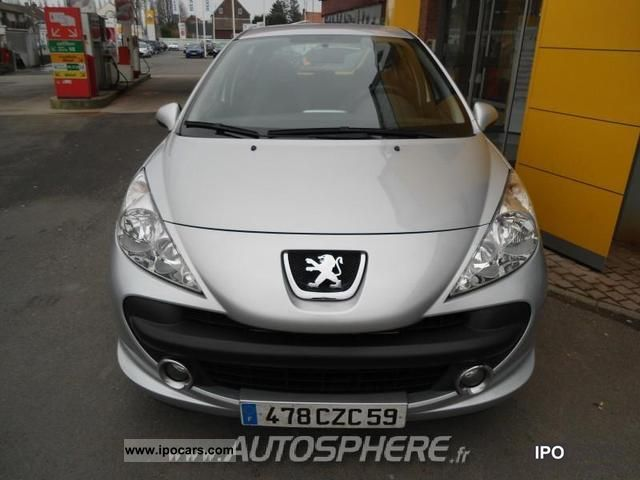 2008 peugeot 207 1 4 16v vti style box usb 5p car photo. Black Bedroom Furniture Sets. Home Design Ideas