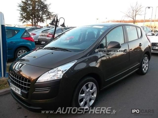 2010 peugeot 3008 1 6 hdi110 confort pack fap bmp6 car photo and specs. Black Bedroom Furniture Sets. Home Design Ideas