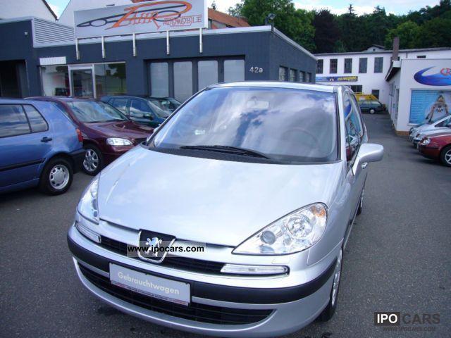 2003 Peugeot  807 AUTO / 7-SITZER/GSD/KLIMAAUTIMATIK Van / Minibus Used vehicle photo