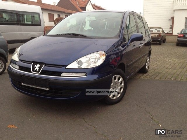2004 Peugeot  807 135 Tendance, 7Sitze, technical approval + Insp New Wi-tire Van / Minibus Used vehicle photo
