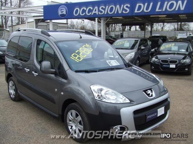 2011 Peugeot  Partner Tepee Outdoor 1.6 HDi112 FAP Estate Car Used vehicle photo