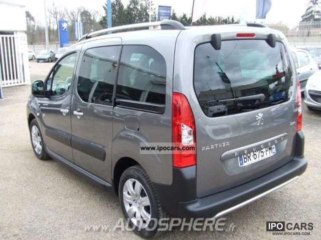 2011 peugeot partner tepee outdoor 1 6 hdi112 fap car photo and specs. Black Bedroom Furniture Sets. Home Design Ideas
